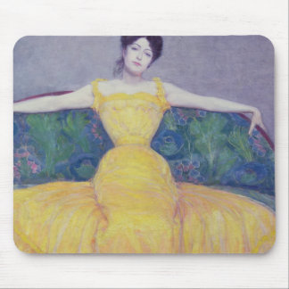 Lady in a Yellow Dress, 1899 Mouse Pad