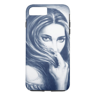Lady In Blue iPhone 7 Plus Case