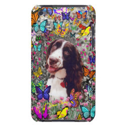 Case-Mate iPod Touch Barely There Case with Brittany Spaniel Phone Cases design