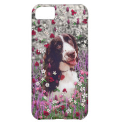 Case-Mate Barely There iPhone 5C Case with Brittany Spaniel Phone Cases design