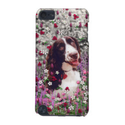 Case-Mate Barely There 5th Generation iPod Touch Case with Brittany Spaniel Phone Cases design