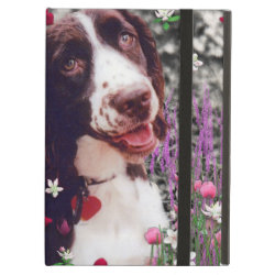 iPad Air Powis Case with Cocker Spaniel Phone Cases design