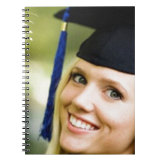 Lady in Grad Hat Notebooks