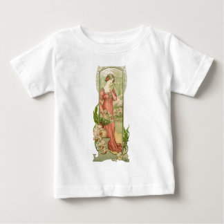 Lady in greenhouse baby T-Shirt