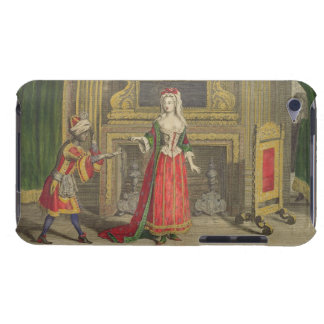 Lady in her bedroom, published c.1688-90 (coloured Case-Mate iPod touch case