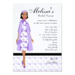 Lady In Lilac Card