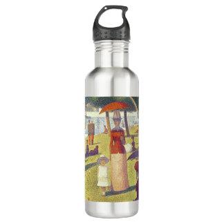 Lady in Orange 24 oz. Stainless Steel Water Bottle