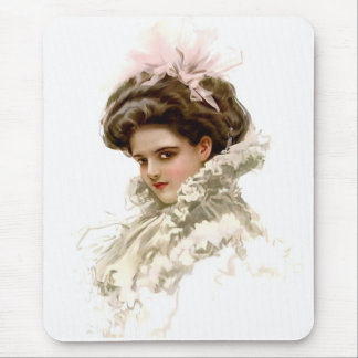 Lady in Profile Mouse Pad
