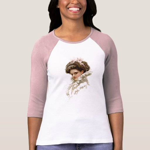 Lady in Profile Tee Shirt