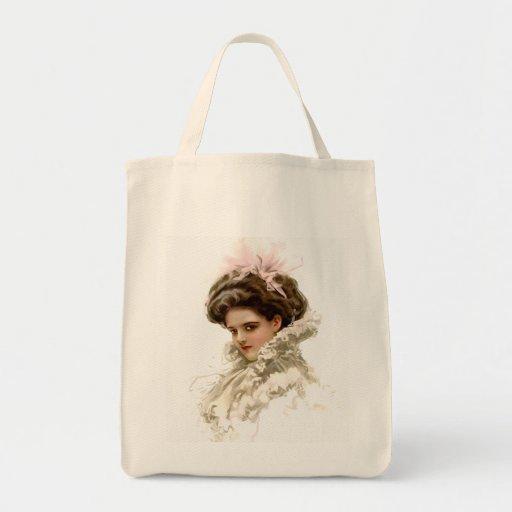 Lady in Profile Tote Bag