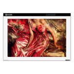 """Lady in Red by Giovanni Boldini Skins For 17"""" Laptops"""