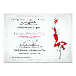 Lady In Red Invitation