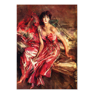 Lady in Red Invitations