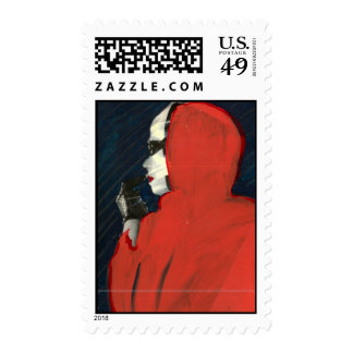 Lady in Red Stamps