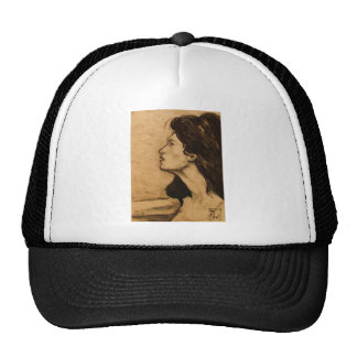 Lady in Sepia Hat