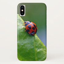 Lady in the garden iPhone x case