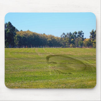 Lady in the grass, mousepad