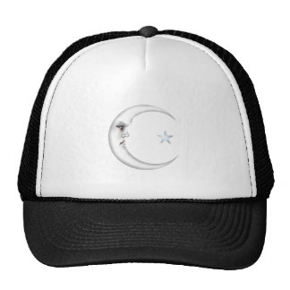 Lady in the Moon Trucker Hat