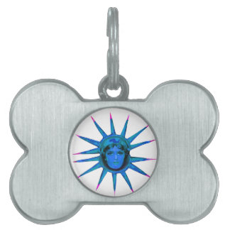 Lady In The Star Pet ID Tag