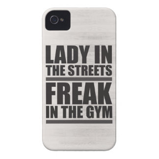 Lady In The Streets, Freak In The Gym Case-Mate iPhone 4 Cases