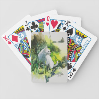 Lady In The Sun Playing Cards