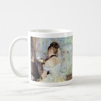 Lady in the Toilet by Berthe Morisot Coffee Mug