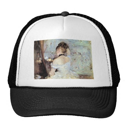 Lady in the Toilet by Berthe Morisot Trucker Hat
