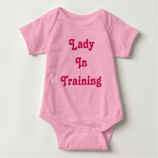 Lady In Training Baby Baby Bodysuit
