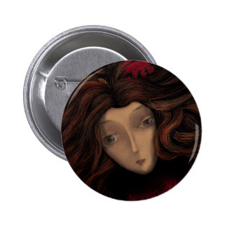 Lady in Wait 2 Inch Round Button