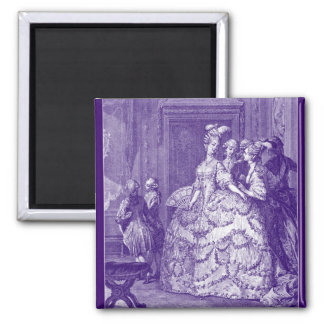 Lady in Waiting to Marie Antoinette Magnet