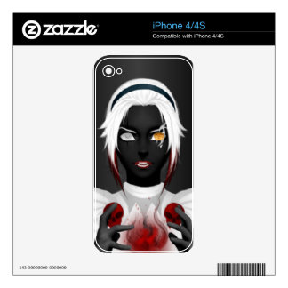Lady InsAnity iPhone 4 Decals