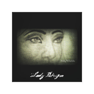 Lady Intrigue Canvas Print