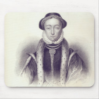 Lady Jane Grey, engraved by S. Freeman Mouse Pad