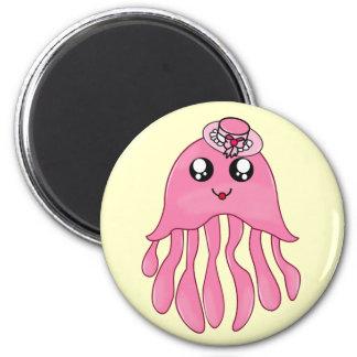 Lady Jellyfish Magnet