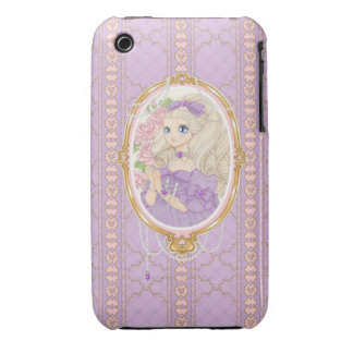 Lady Jewel iPhone 3G case (amethyst) iPhone 3 Cases