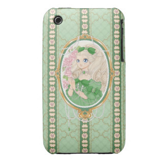 Lady Jewel iPhone 3G case (emerald) iPhone 3 Cover