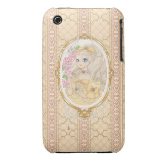 Lady Jewel iPhone 3G case (gold) Case-Mate iPhone 3 Cases