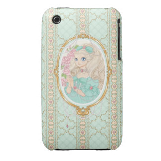 Lady Jewel iPhone 3G case (mint) iPhone 3 Cover