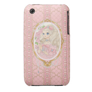 Lady Jewel iPhone 3G case (pink) iPhone 3 Cases