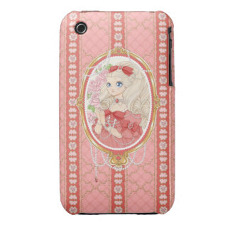 Lady Jewel iPhone 3G case (ruby) Case-Mate iPhone 3 Case