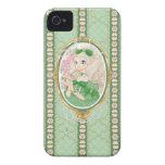 Lady Jewel iPhone 4 case (emerald)