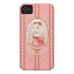Lady Jewel iPhone 4 case (ruby)