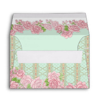 Lady Jewel (mint) Envelope