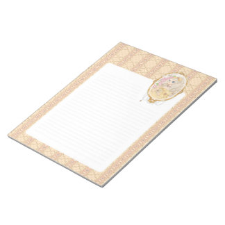 Lady Jewel notepad (gold)