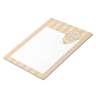 Lady Jewel notepad (gold)