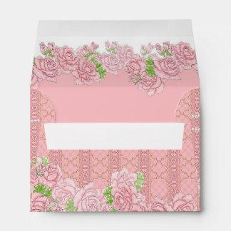 Lady Jewel (pink) Envelope