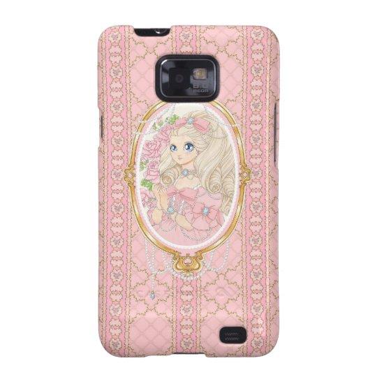 Lady Jewel Samsung Galaxy S case (pink)