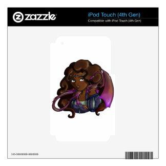 Lady Jolenta iPod Touch 4G Decals