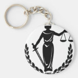 LADY JUSTICE CO. KEYCHAINS