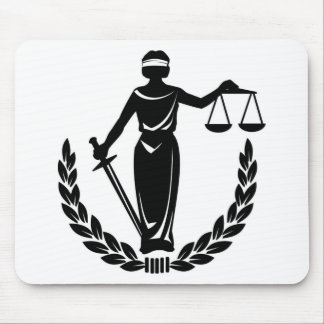 LADY JUSTICE CO. MOUSE PAD